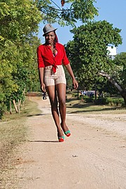 Jessie Muhanji is a model based in Mtwapa, Mombasa. Her work experience includes fashion photoshoots and events. She is available for fashio