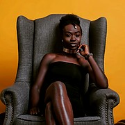 Joan Mokoro model. Photoshoot of model Joan Mokoro demonstrating Commercial Modeling.Sun Africa StudioCommercial Modeling Photo #205307