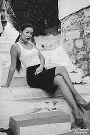 Joanna Albani model (μοντέλο). Photoshoot of model Joanna Albani demonstrating Fashion Modeling.Fashion Modeling Photo #188043