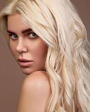 Joanna Borov model. Photoshoot of model Joanna Borov demonstrating Face Modeling.Face Modeling Photo #229603