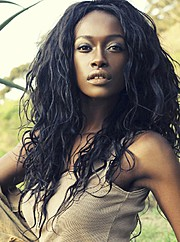 Joelle Kayembe model. Photoshoot of model Joelle Kayembe demonstrating Face Modeling.Face Modeling Photo #142118