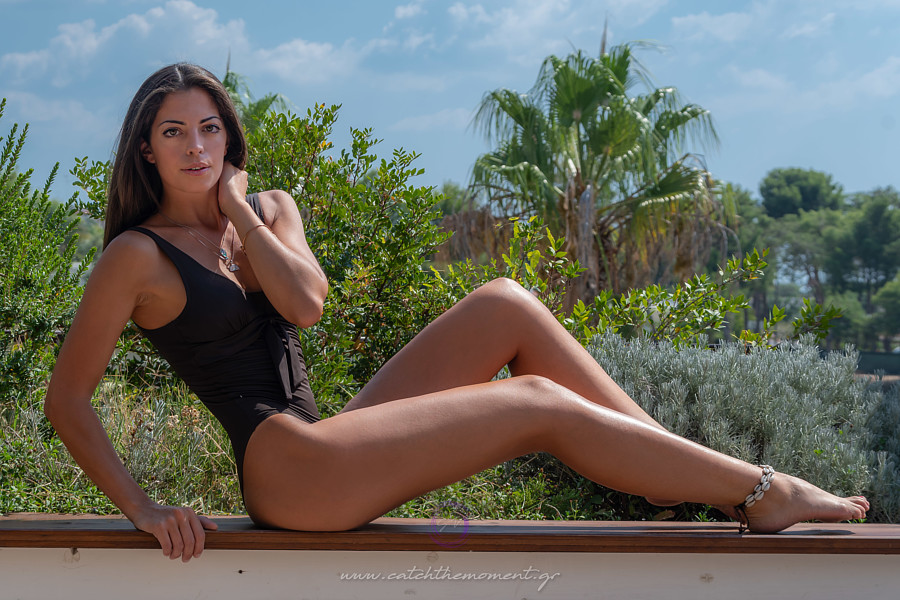 John Vlaseros (Γιάννης Βλασερός) fashion photography book food style. Work by photographer John Vlaseros demonstrating Fashion Photography in a photo-session with the model Denise Portone.#photoshooting in #italy#swimwear: Elektra swimwearmodel: De