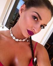 Josefina Tzouganaki model (Ιωσηφίνα Τζουγανάκη μοντέλο). Photoshoot of model Josefina Tzouganaki demonstrating Face Modeling.Face Modeling Photo #214676