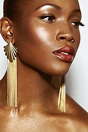 Joy Adenuga makeup artist. Work by makeup artist Joy Adenuga demonstrating Beauty Makeup.EarringsBeauty Makeup Photo #62526