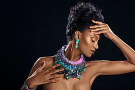 Joy Adenuga makeup artist. Work by makeup artist Joy Adenuga demonstrating Fashion Makeup.Fashion Makeup Photo #62528