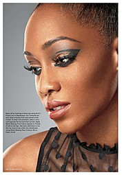 Joy Adenuga makeup artist. Work by makeup artist Joy Adenuga demonstrating Beauty Makeup.Beauty Makeup Photo #62532