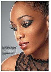 Joy Adenuga makeup artist. Work by makeup artist Joy Adenuga demonstrating Beauty Makeup.Beauty Makeup Photo #62532