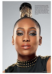 Joy Adenuga makeup artist. Work by makeup artist Joy Adenuga demonstrating Beauty Makeup.Beauty Makeup Photo #62533