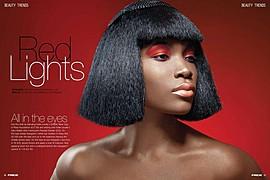 Joy Adenuga makeup artist. Work by makeup artist Joy Adenuga demonstrating Beauty Makeup.Beauty Makeup Photo #62545