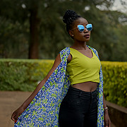 Joy kiome is a 21 years old, 5'5' height, brown eyes ,dark hair and a caramel complexion model based in Nairobi. She's very passionate about