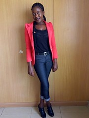 Judith akoth is a new face in the Kenyan modeling industry.,currently pursuing Information Technology at Nibs Technical college but has alre