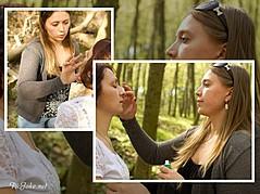 Julia Grytsenko makeup artist (Юлия Гриценко візажист). Work by makeup artist Julia Grytsenko demonstrating Fashion Makeup.Fashion Makeup Photo #101148