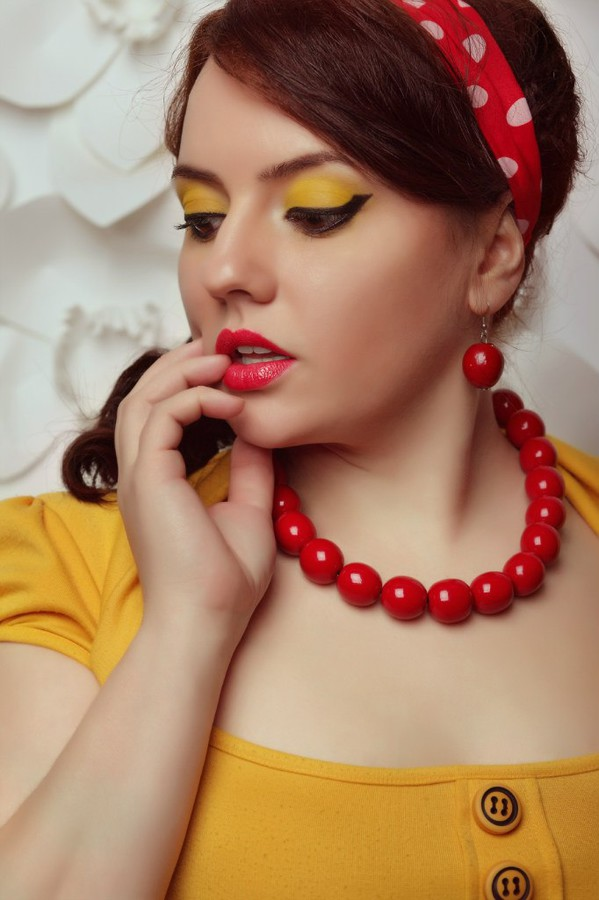 Julia Grytsenko makeup artist (Юлия Гриценко візажист). Work by makeup artist Julia Grytsenko demonstrating Beauty Makeup.Beauty Makeup Photo #101147