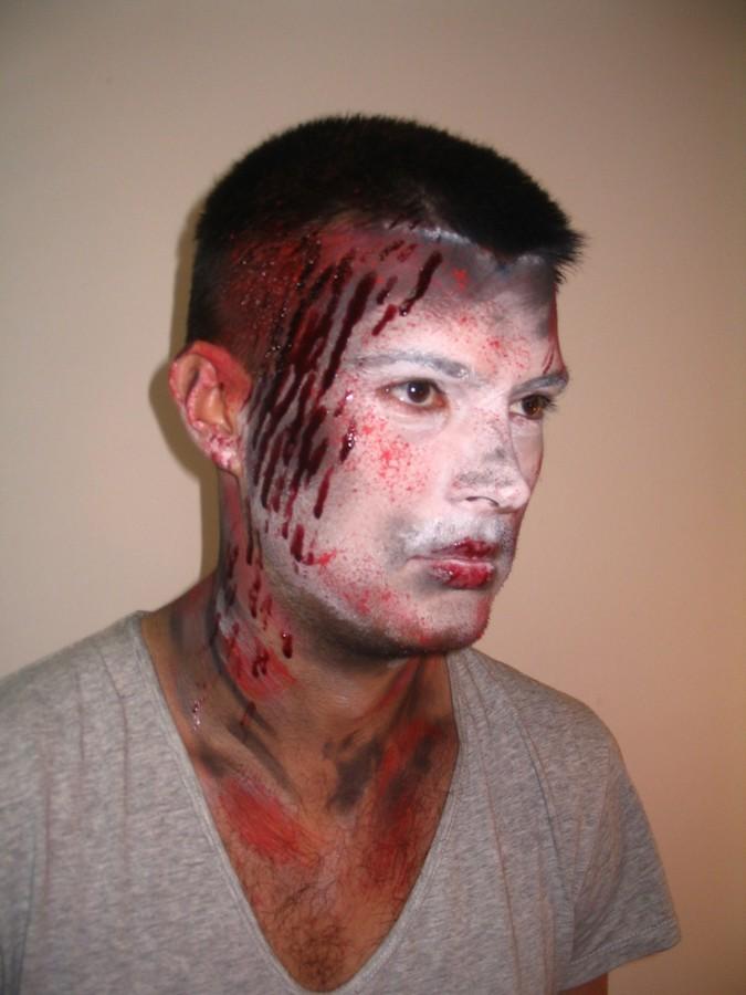 Julia Grytsenko makeup artist (Юлия Гриценко візажист). Work by makeup artist Julia Grytsenko demonstrating Special Fx Makeup.Horror Film SFXSpecial Fx Makeup Photo #101153