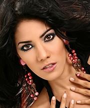 Julia Iris Ayala model. Photoshoot of model Julia Iris Ayala demonstrating Face Modeling.Face Modeling Photo #119849