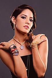 Julia Iris Ayala model. Photoshoot of model Julia Iris Ayala demonstrating Face Modeling.Face Modeling Photo #119850