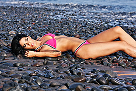 Julia Iris Ayala model. Photoshoot of model Julia Iris Ayala demonstrating Body Modeling.Body Modeling Photo #119852