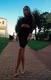 Julia Kazarovets model (modelka). Photoshoot of model Julia Kazarovets demonstrating Fashion Modeling.Fashion Modeling Photo #172633