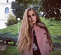 Julia Kazarovets model (modelka). Photoshoot of model Julia Kazarovets demonstrating Face Modeling.Face Modeling Photo #172641