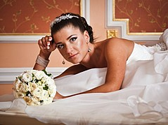 Julia Kurolenko makeup artist. Work by makeup artist Julia Kurolenko demonstrating Bridal Makeup.Bridal Makeup Photo #186253