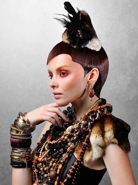 Julia Kurolenko makeup artist. Work by makeup artist Julia Kurolenko demonstrating Beauty Makeup.Beauty Makeup Photo #186261
