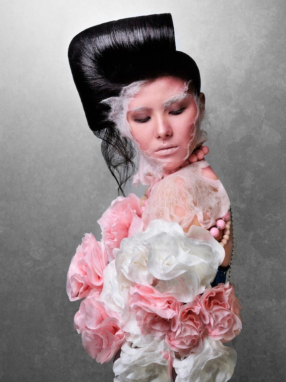Julia Kurolenko makeup artist. Work by makeup artist Julia Kurolenko demonstrating Creative Makeup.Creative Makeup Photo #186262