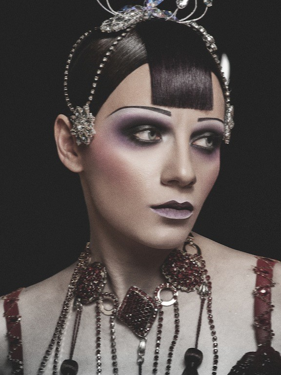 Julia Kurolenko makeup artist. Work by makeup artist Julia Kurolenko demonstrating Creative Makeup.Creative Makeup Photo #186263