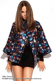 Julia Voronova model (Юлия Воронова модель). Photoshoot of model Julia Voronova demonstrating Fashion Modeling.Fashion Modeling Photo #123917