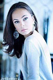 Julia Voronova model (Юлия Воронова модель). Photoshoot of model Julia Voronova demonstrating Face Modeling.Face Modeling Photo #123926