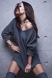 Julia Voronova model (Юлия Воронова модель). Photoshoot of model Julia Voronova demonstrating Fashion Modeling.Fashion Modeling Photo #123930
