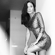 Julia Voronova model (Юлия Воронова модель). Photoshoot of model Julia Voronova demonstrating Fashion Modeling.Fashion Modeling Photo #123932