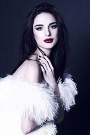 Julia Zakharova model (модель). Photoshoot of model Julia Zakharova demonstrating Face Modeling.Face Modeling Photo #118171