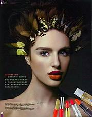 Julia Zakharova model & painter. Photoshoot of model Julia Zakharova demonstrating Face Modeling.Face Modeling Photo #118181