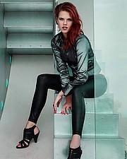 Julie Odlozilikova (Julie Odložilíková) model. Photoshoot of model Julie Odlozilikova demonstrating Fashion Modeling.Fashion Modeling Photo #187963