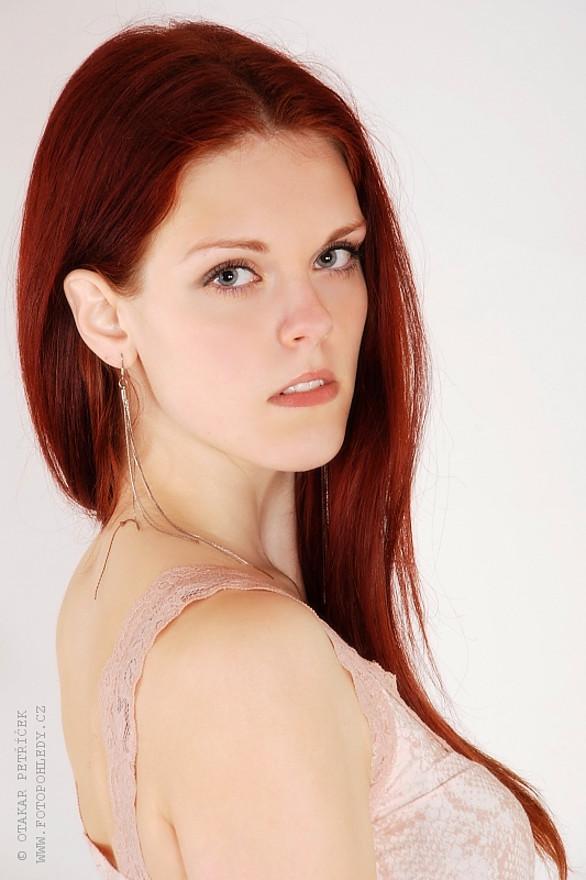 Julie Odlozilikova (Julie Odložilíková) model. Photoshoot of model Julie Odlozilikova demonstrating Face Modeling.Face Modeling Photo #187969