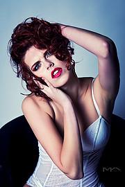 Julie Odlozilikova (Julie Odložilíková) model. Photoshoot of model Julie Odlozilikova demonstrating Face Modeling.Portrait Photography,Face Modeling,Beauty Makeup Photo #188034