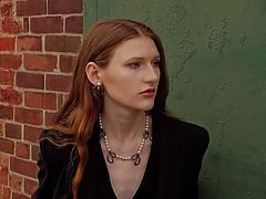 Juliet Sora model. Juliet Sora demonstrating Face Modeling, in a photoshoot by Dan Gordon.photographer: Dan Gordonjewelry: Marina Babic-NorrieFace Modeling Photo #228887
