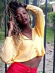 Juliet Stephanie Anyango model. Photoshoot of model Juliet Stephanie Anyango demonstrating Fashion Modeling.Fashion Modeling Photo #230046