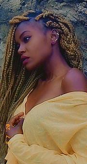 Juliet Stephanie Anyango model. Photoshoot of model Juliet Stephanie Anyango demonstrating Face Modeling.Face Modeling Photo #230047