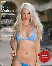 June Walton model. Photoshoot of model June Walton demonstrating Body Modeling.Body Modeling Photo #77553