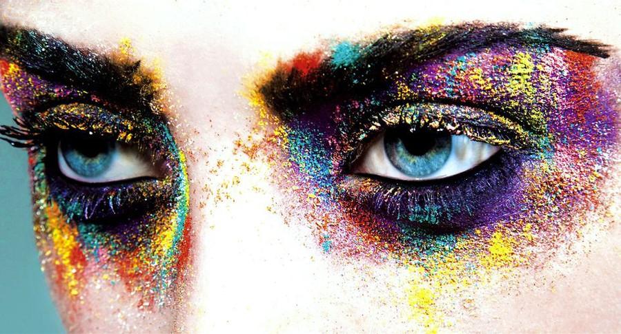 Justina Sullivan makeup artist & hair stylist. Work by makeup artist Justina Sullivan demonstrating Creative Makeup.Creative Makeup Photo #80373