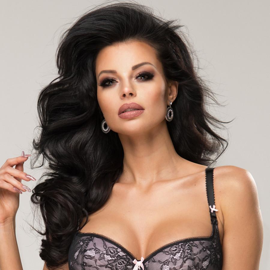 Justyna Gradek model (modelka). Photoshoot of model Justyna Gradek demonstrating Face Modeling.Face Modeling Photo #201578