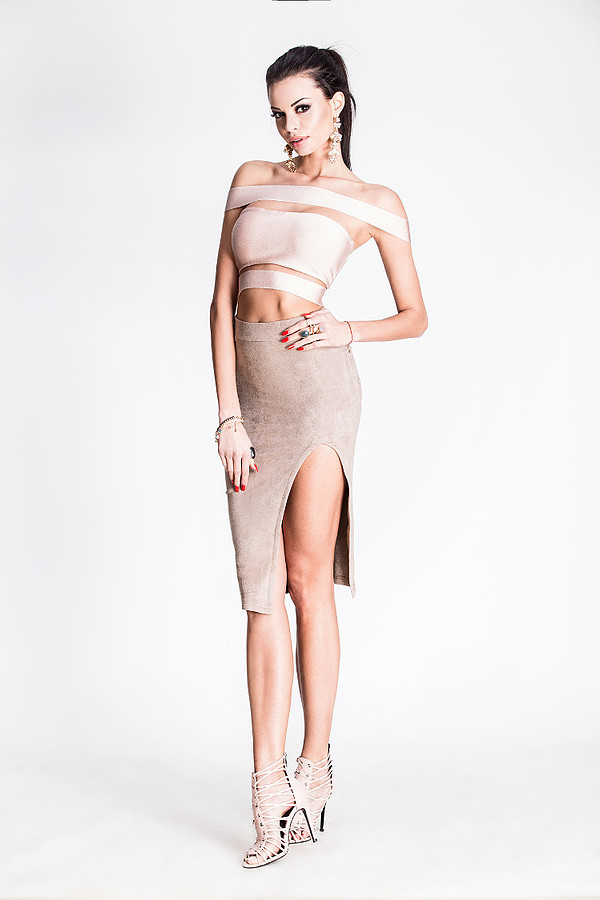 Justyna Gradek model (modelka). Photoshoot of model Justyna Gradek demonstrating Fashion Modeling.Lincy FashionFashion Modeling Photo #201588