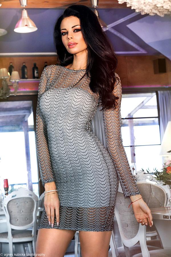 Justyna Gradek model (modelka). Photoshoot of model Justyna Gradek demonstrating Fashion Modeling.Fashion Modeling Photo #201601