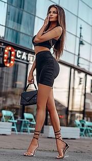 Justyna Gradek model (modelka). Photoshoot of model Justyna Gradek demonstrating Fashion Modeling.designer: Exclusive ButikFashion Modeling Photo #233303