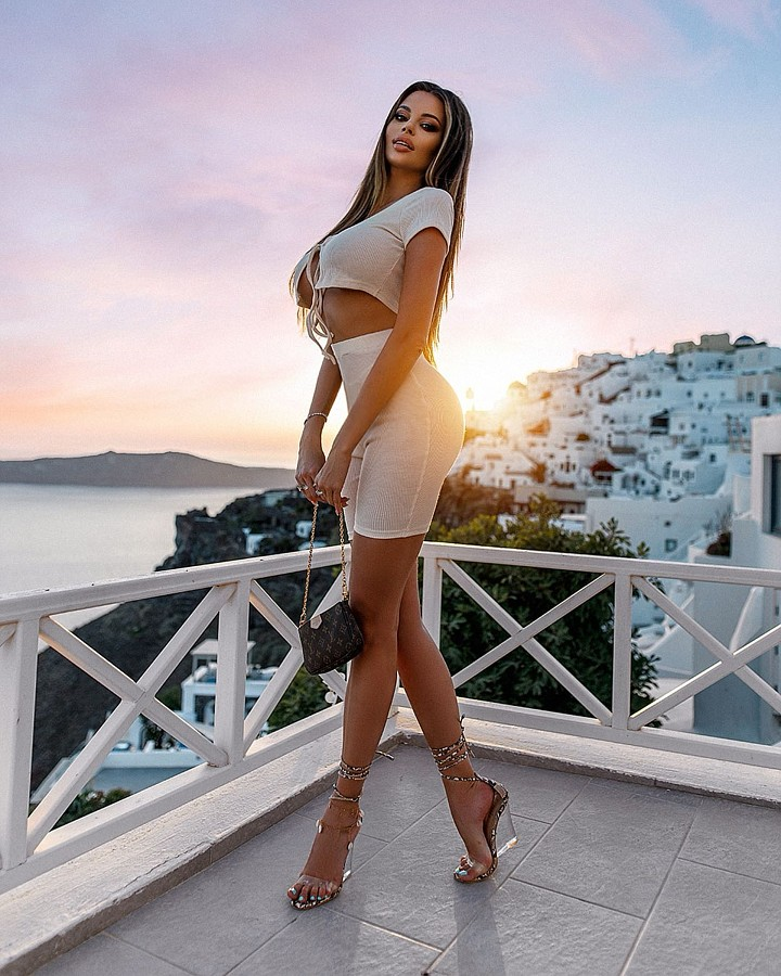 Justyna Gradek model (modelka). Photoshoot of model Justyna Gradek demonstrating Fashion Modeling.Fashion Modeling Photo #230648