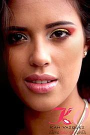Kah Vazquez makeup artist (maquiador). Work by makeup artist Kah Vazquez demonstrating Beauty Makeup.Beauty Makeup Photo #46924