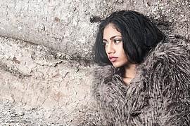 Kamilla Mohammad model & actor. Photoshoot of model Kamilla Mohammad demonstrating Face Modeling.Face Modeling Photo #78629