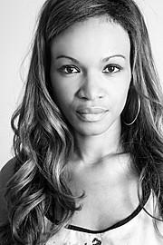 Karen Silva model (modella). Photoshoot of model Karen Silva demonstrating Face Modeling.Face Modeling Photo #92375