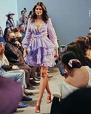 Karen Soto Salazar model. Photoshoot of model Karen Soto Salazar demonstrating Runway Modeling.Runway Modeling Photo #233263